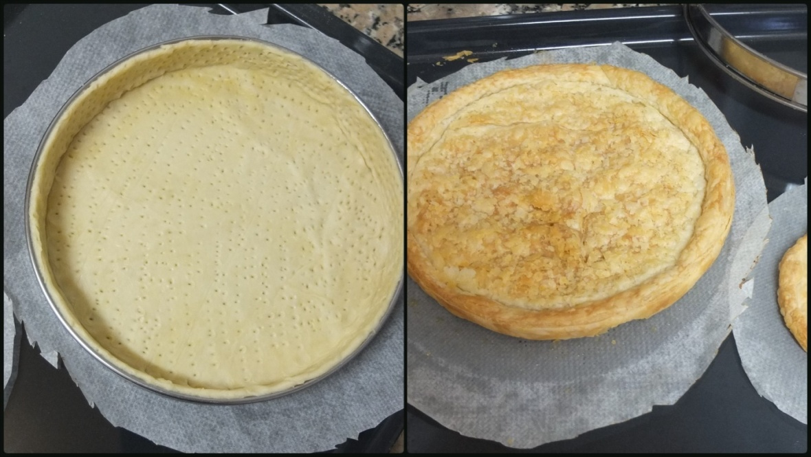Neater puff pastry shell baked - prototype-1