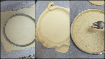Neater inverted puff pastry shell