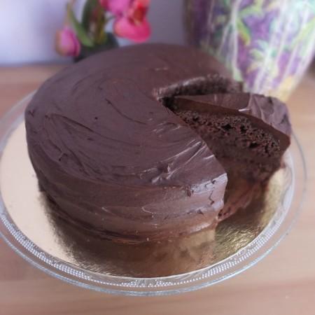 Aquafaba Chocolate Cake Recipe