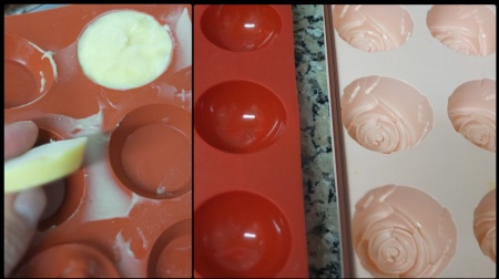 Citrus passion silicon moulds