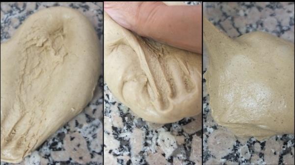 Making hot cross bun dough 4