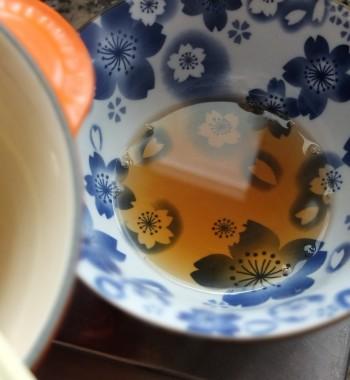 Apricot sunshine mousse cake - soaking syrup