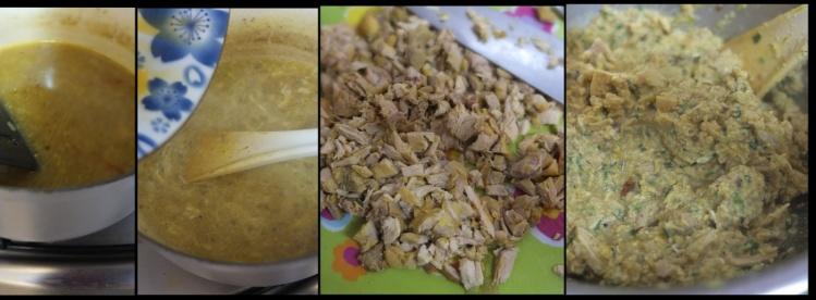 Moroccan chicken pie part 2