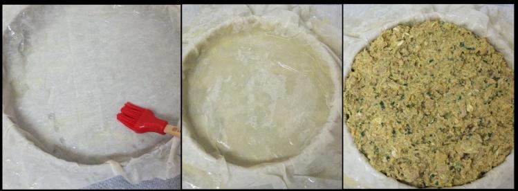 Moroccan chicken pie part 3