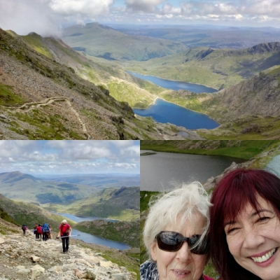 Snowdon, up the miners' path