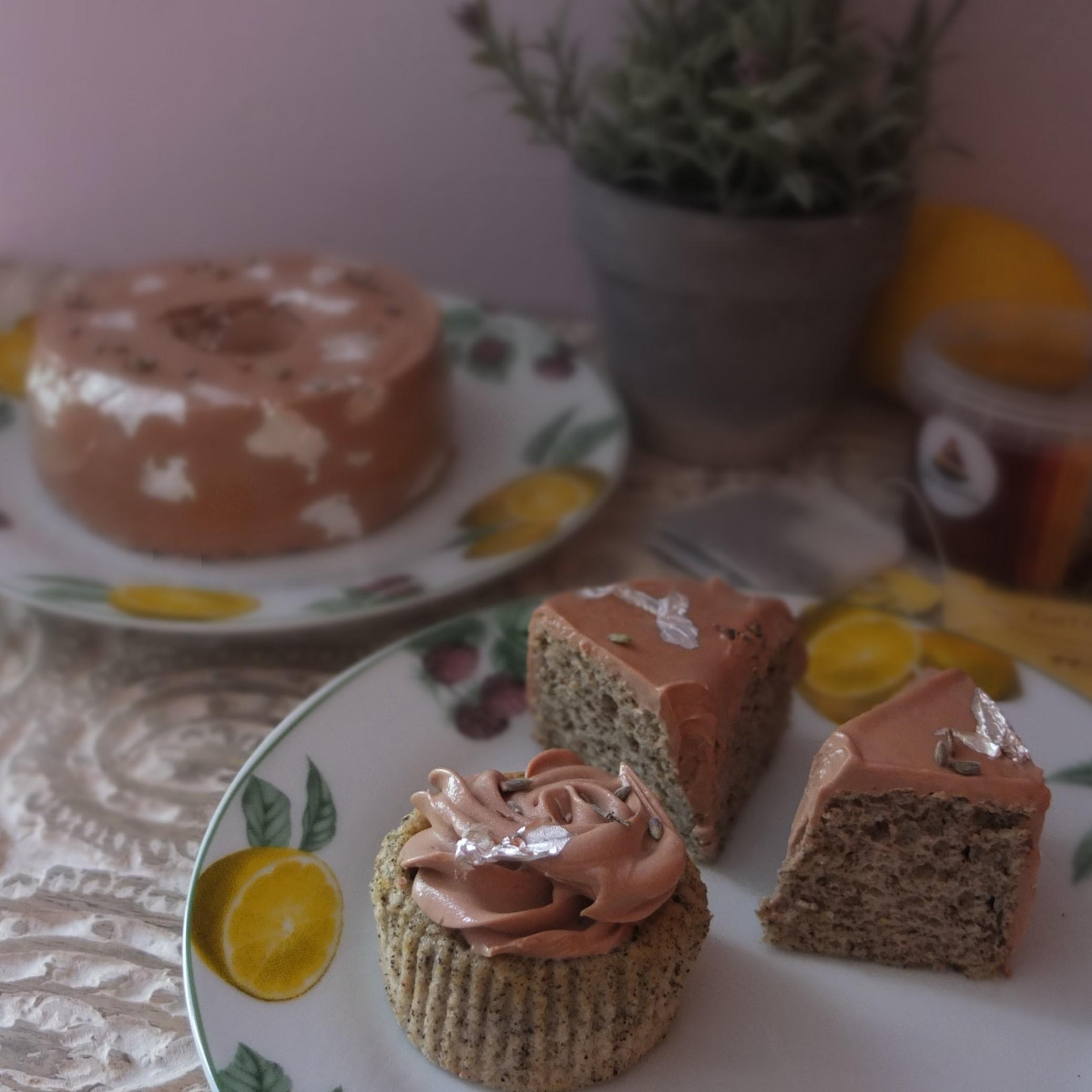Earl Grey Lemon Chiffon Cake
