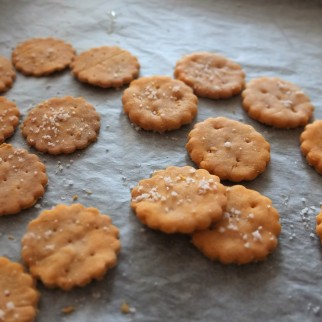 Homemade ritz-style crackers, glutenfree or not