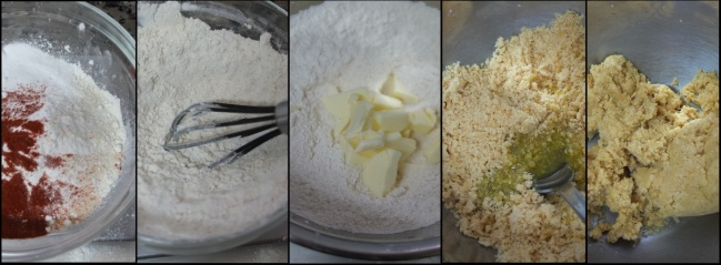 Making ritz-style crackers 1