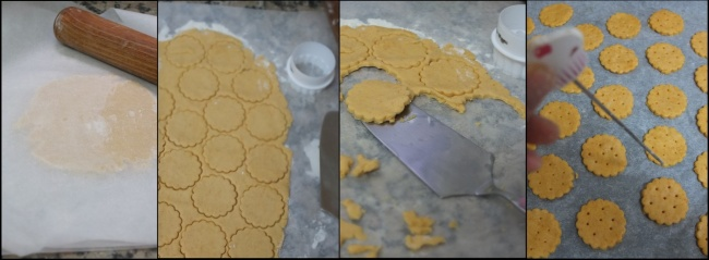 Making ritz-style crackers 3