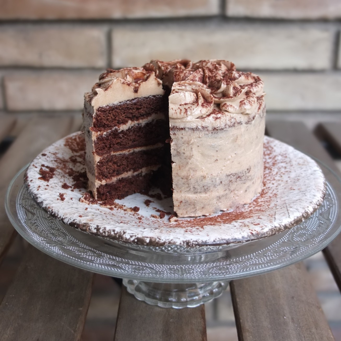 Vegan Mini Mocha Layer Cake Or Cupcakes Recipe Gluten