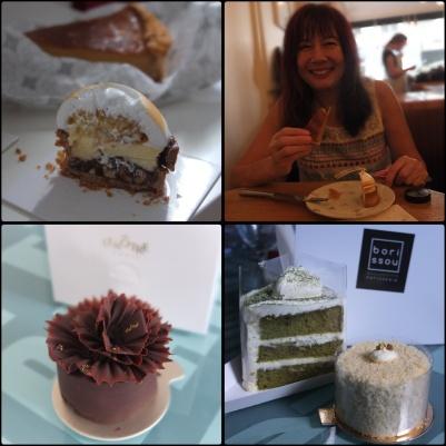 Cake tour 2 cakes