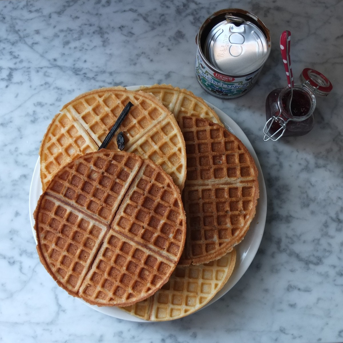 'Gourmet' beurre noisette waffles recipe!  Chestnut, tonka or vanilla!  Glutenfree or not... :)