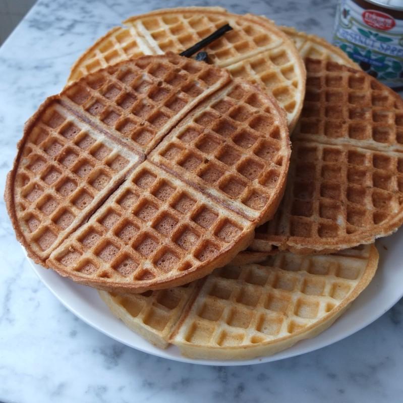 Gourmet beurre noisette waffles, chestnut, tonka or vanilla