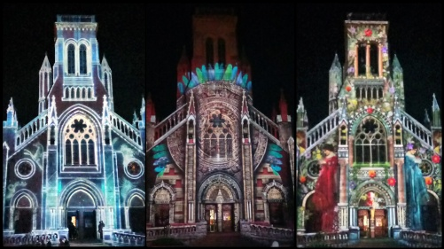Church lightshow