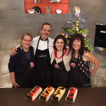 Le meilleur du chef yule log workshop participants