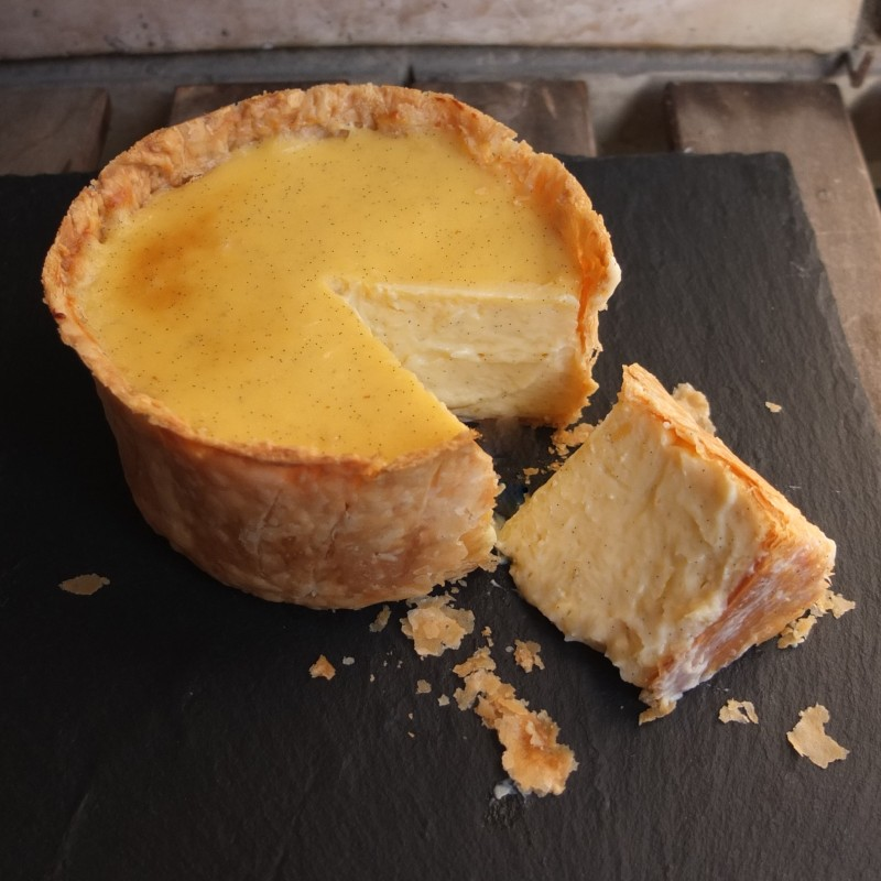 Creamy flan parisien - French custard tart