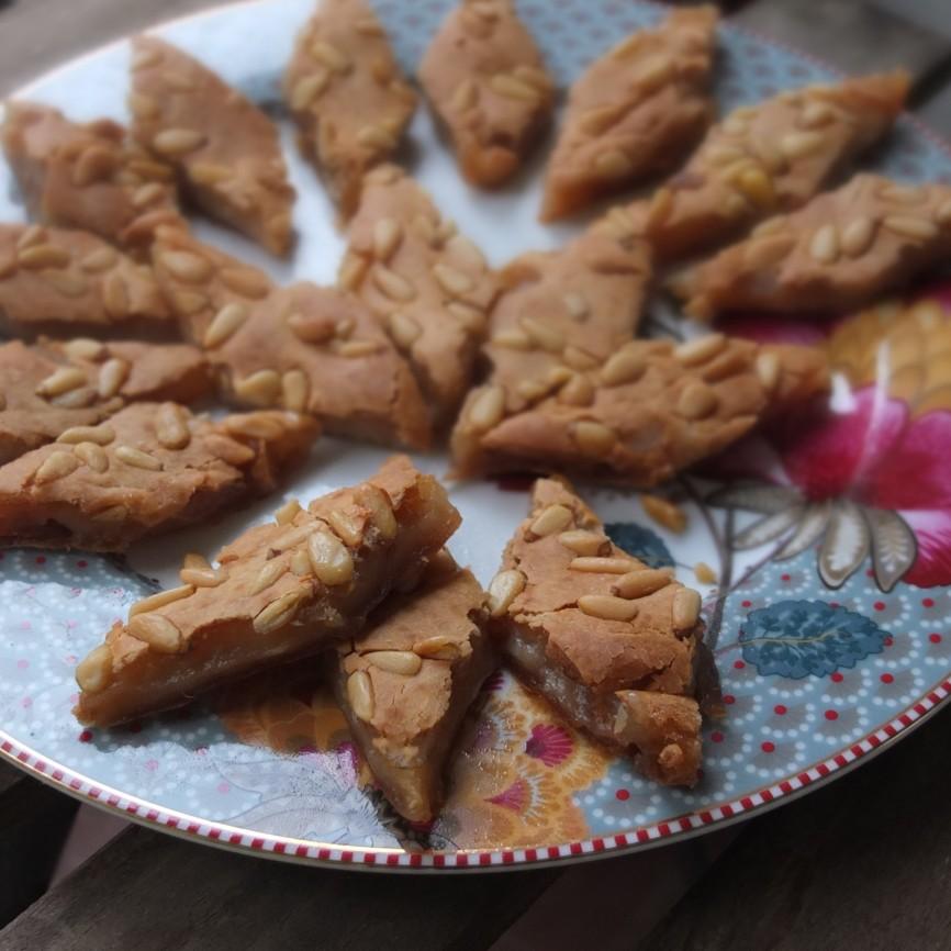 Healthier baked niangao sticky rice cake
