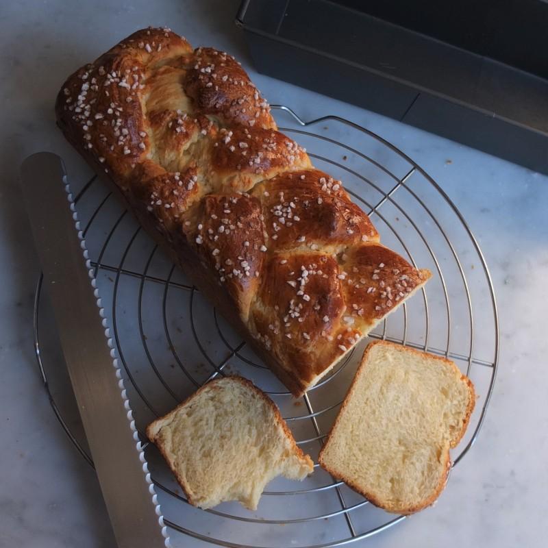 Lower-gluten brioche - prototype 4
