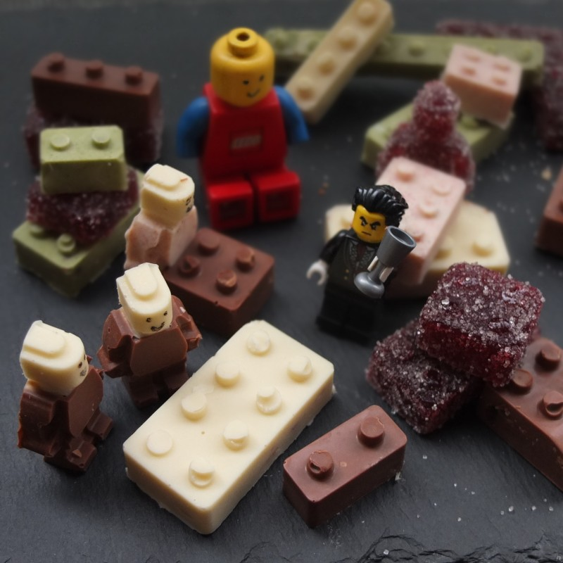 Lego blocks and men - tempering chocolate with mycryo cocoa butter