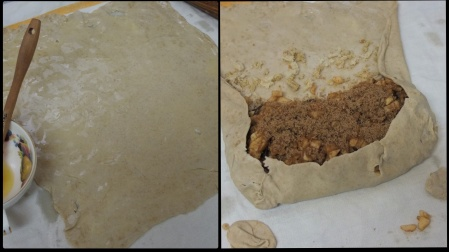 Lower-gluten strudel
