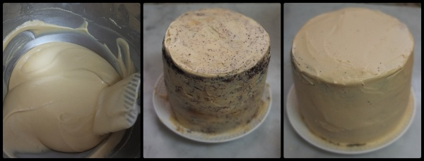 Caramel buttercream 2 for Snickers cake