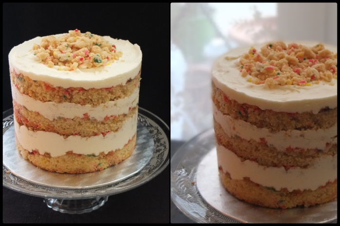 Milk bar birthday layer cake