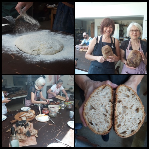 At the sourdough diploma course