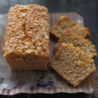 Healthier sourdough orange and lemon cake