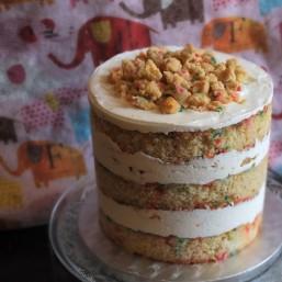 Birthday layer cake