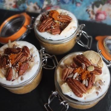Autumn pumpkin chia pudding