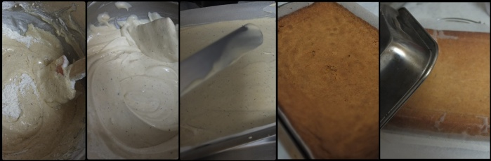 Making brown butter sponge 3