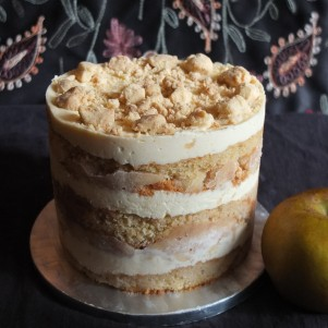 Slightly Healthier Apple Pie Layer Cake Recipe Gluten Free Or Not