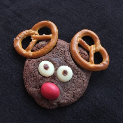 Rudolph chocolate cookies