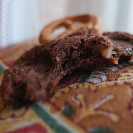 Rudolph chocolate cookie