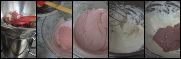 Mousse for cherry dome cakes 2
