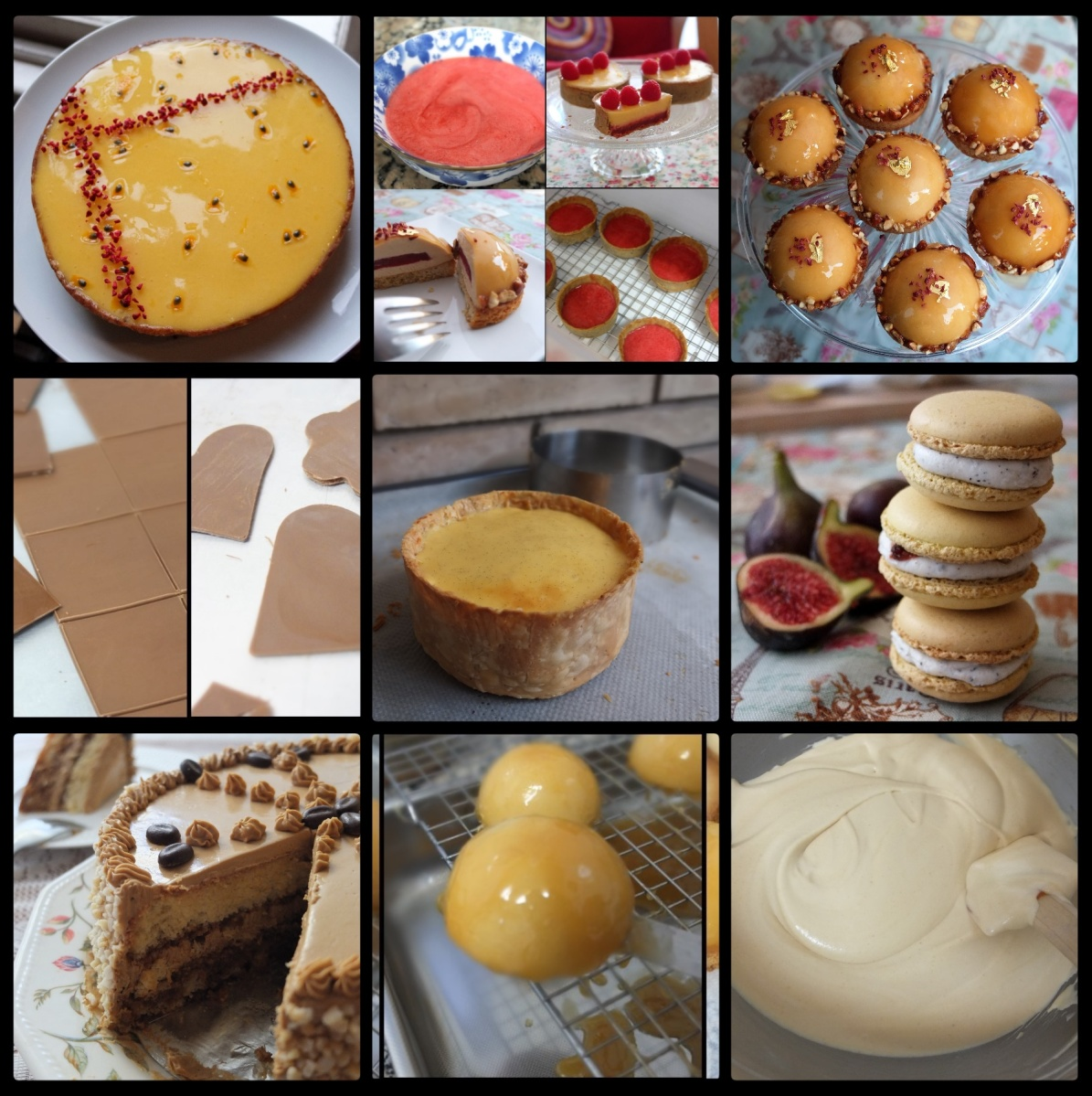 Happy new year 2019 baking plans and top recipes from 2018!  Photos, trends, inspiration ... :)
