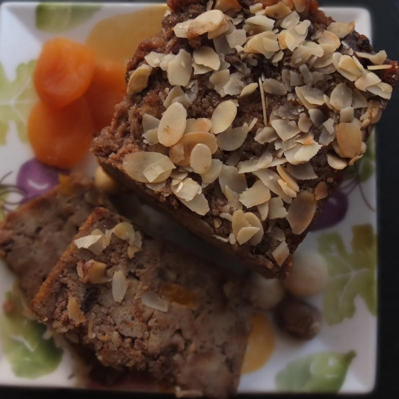 Sourdough bread pudding