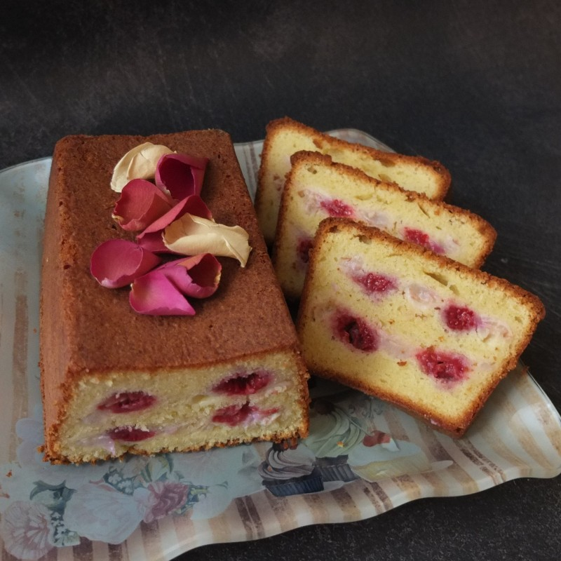 Ispahan cake, glutenfree or not