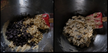Chocolate chip cookie dough 3