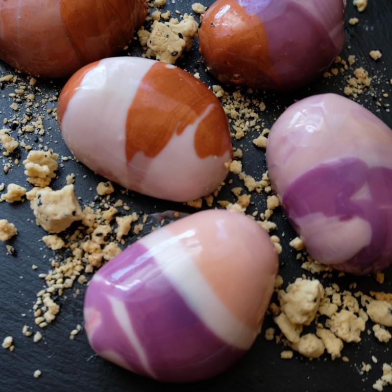 Zen stones mousse cakes