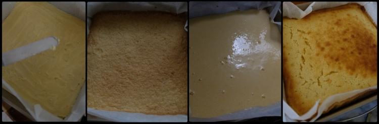 Baking lemon squares