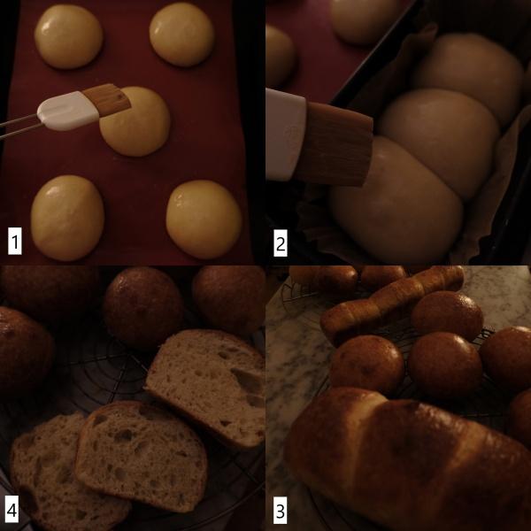 Baking sourdough brioche 2