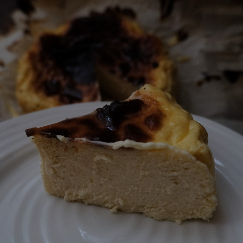 Amazing Basque Burnt Cheesecake Recipe Glutenfree Adapted From La Vina S Best Cheesecake In The World Lili S Cakes