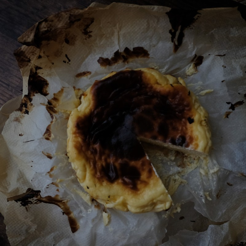 Burnt Basque cheesecake