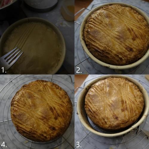Baked Gâteau Basque