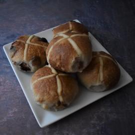 Best sourdough hot cross buns