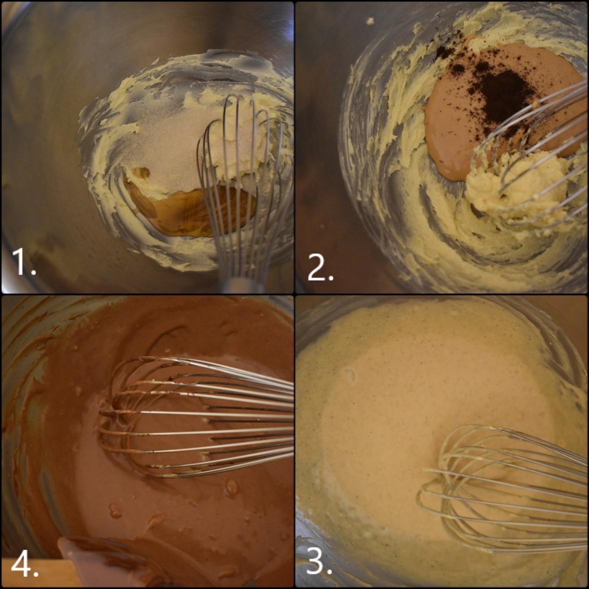 Making dulce de leche chocolate cake - 1