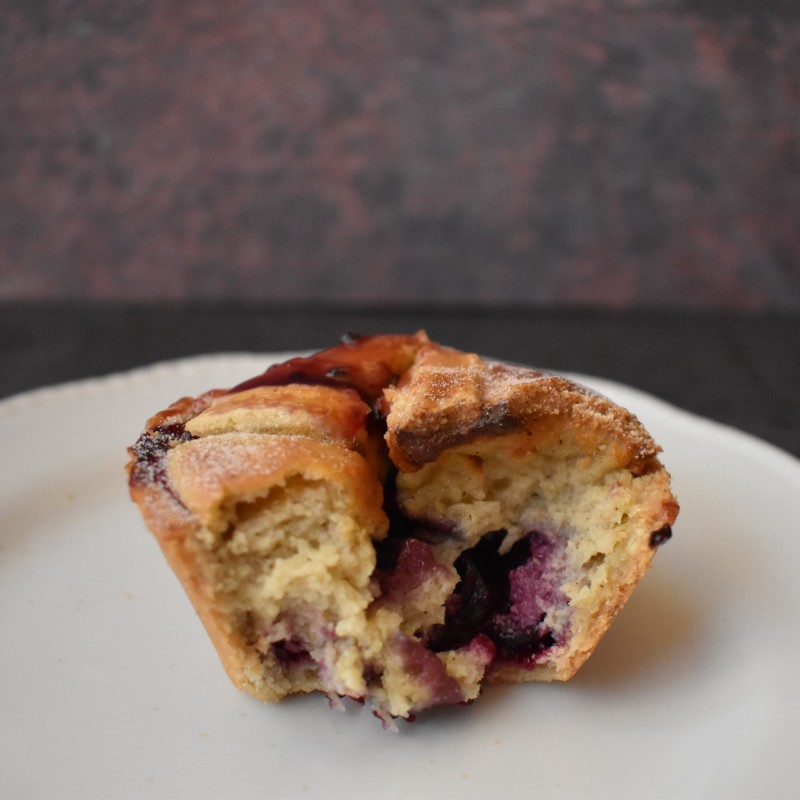 pont neuf pastry with blackcurrants