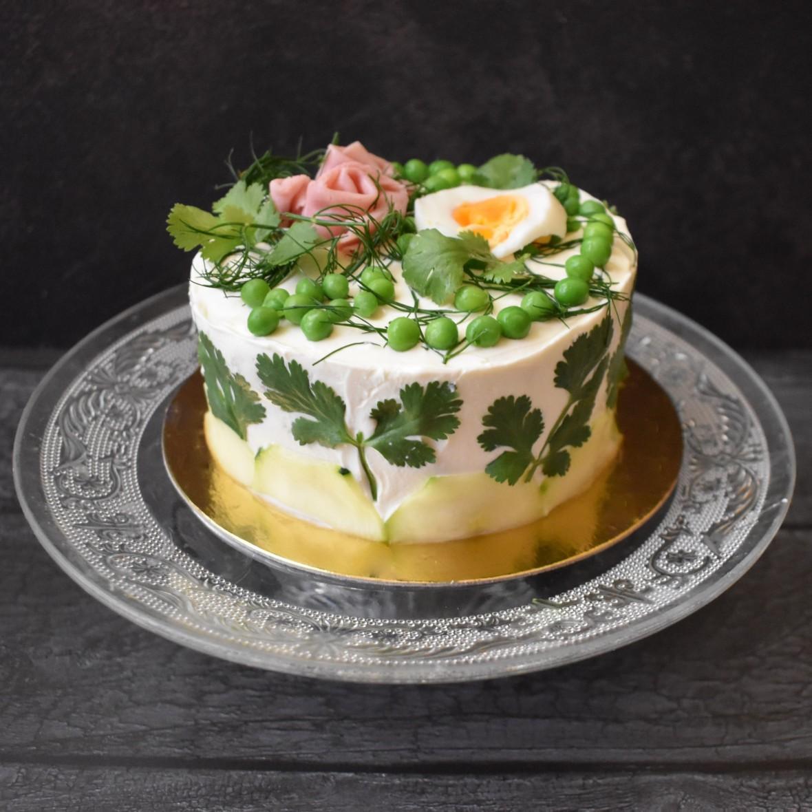 Smörgåstårta, Swedish sandwich cake