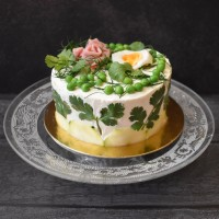 Smörgåstårta Swedish sandwich cake recipe!  An easy delish savoury treat with any filling you like ... :)